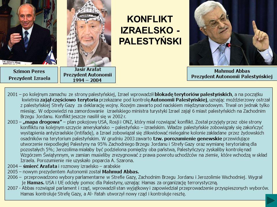 Prezydent Autonomii Palestyńskiej