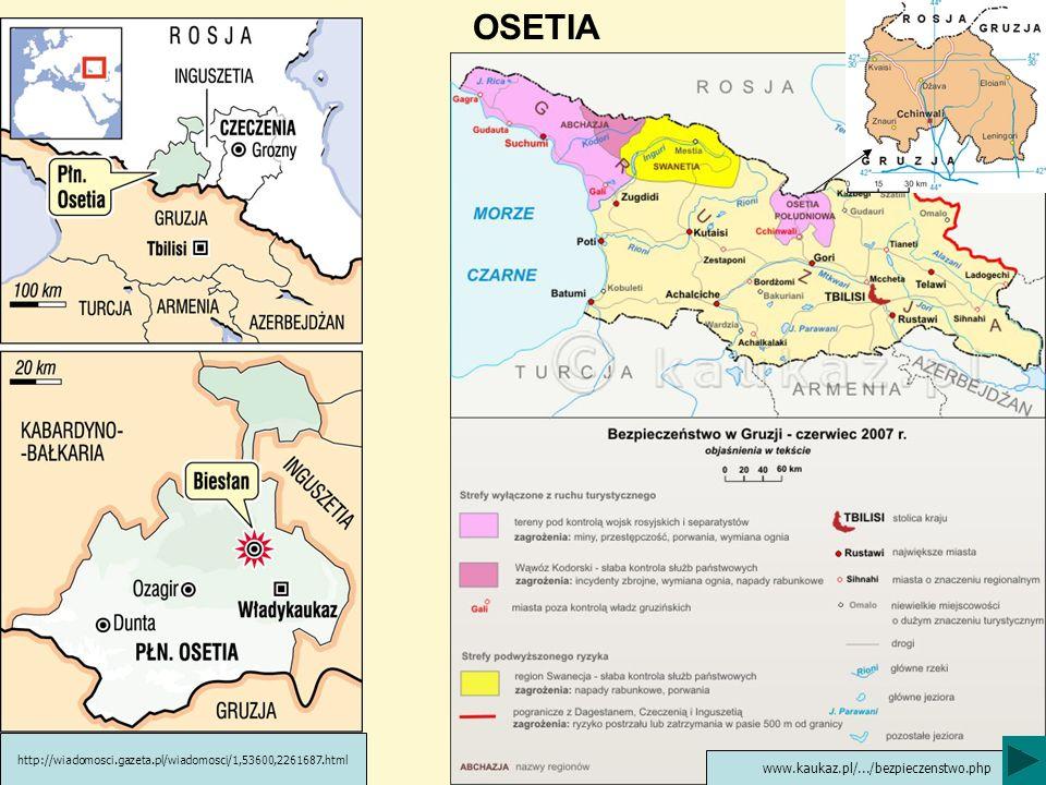 OSETIA www.kaukaz.pl/.../bezpieczenstwo.php