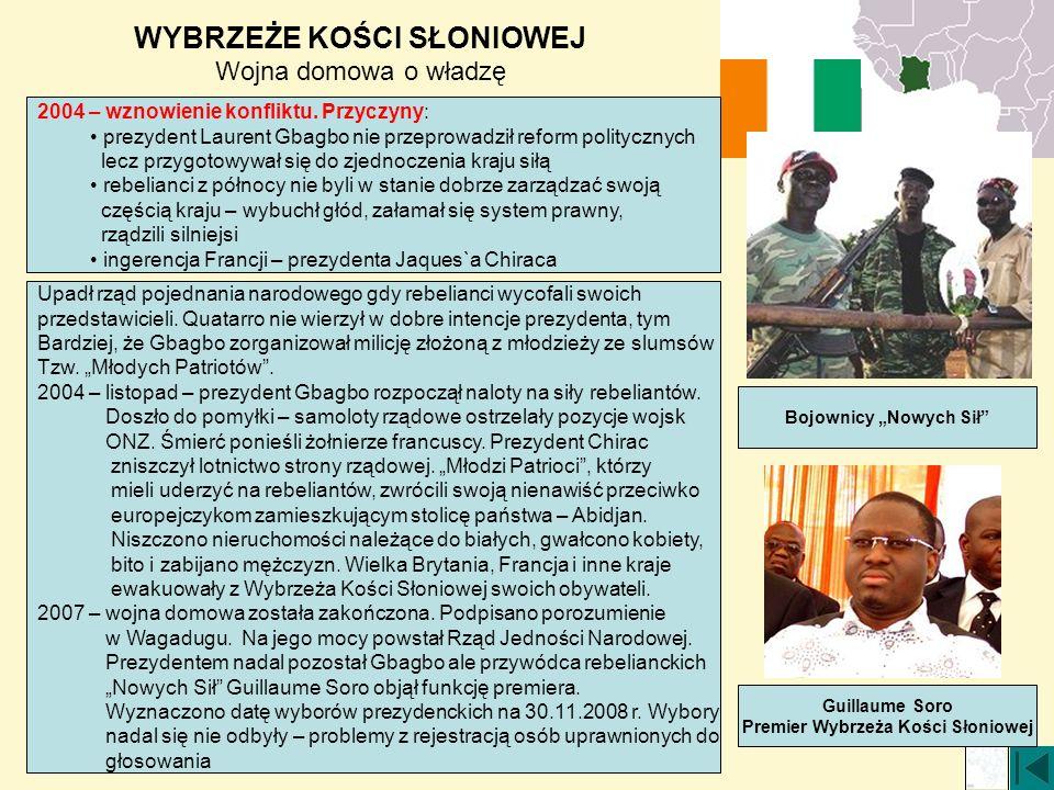 """Bojownicy """"Nowych Sił Premier Wybrzeża Kości Słoniowej"""