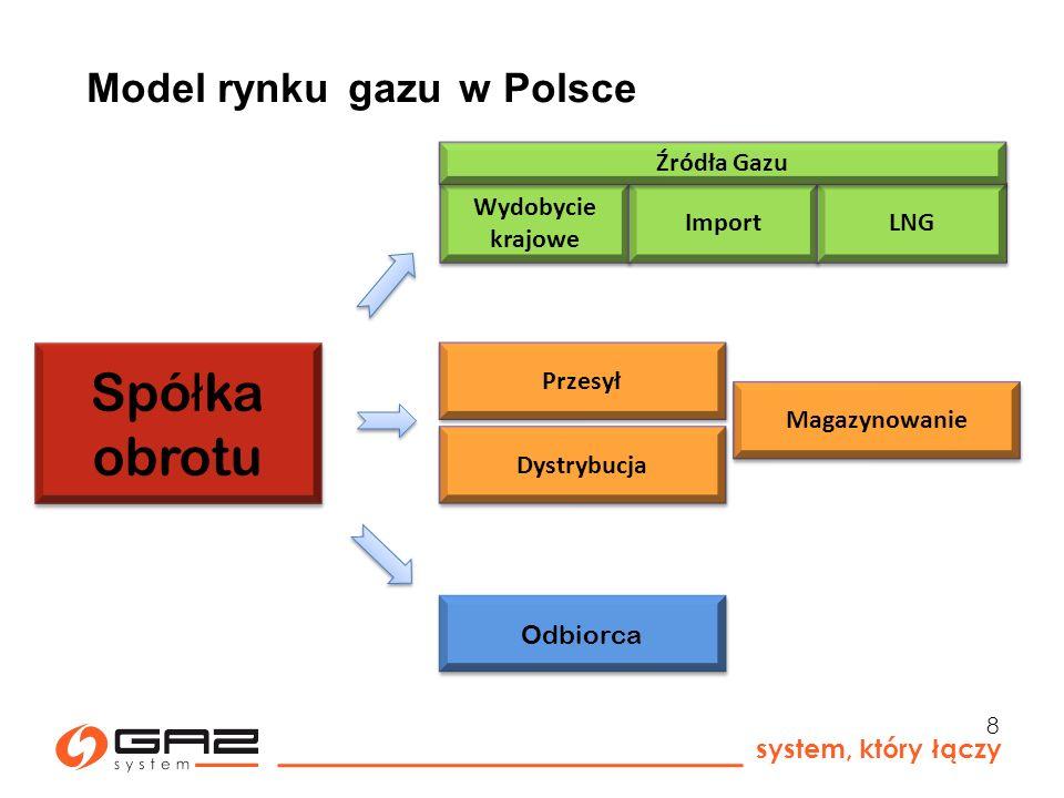 Model rynku gazu w Polsce