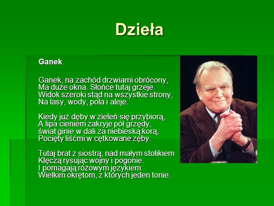 Dzieła Ganek.