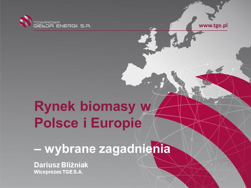 Rynek biomasy w Polsce i Europie