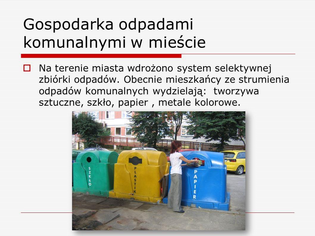 Gospodarka odpadami komunalnymi w mieście