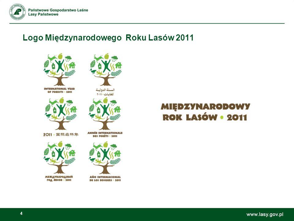 Logo Międzynarodowego Roku Lasów 2011