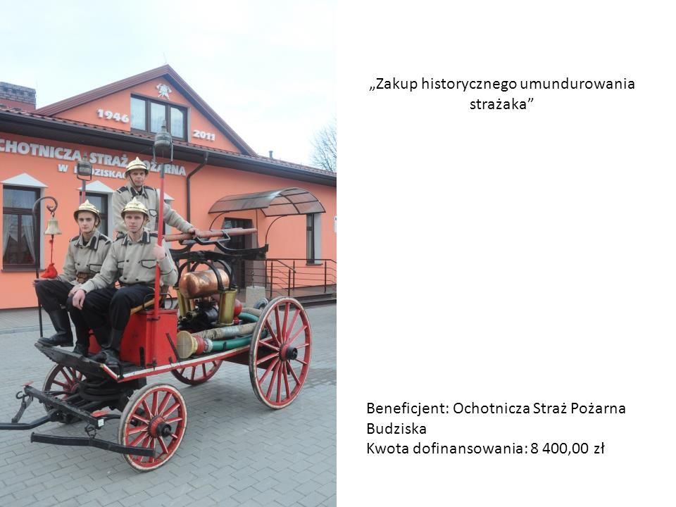 """""""Zakup historycznego umundurowania strażaka"""