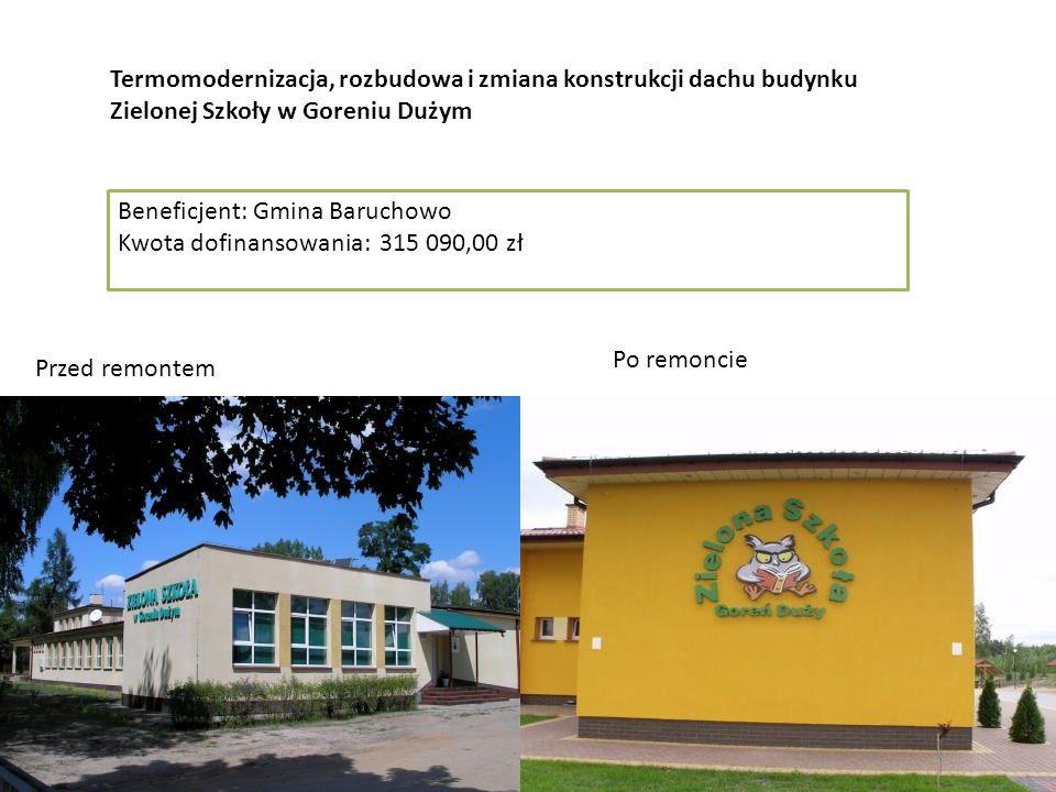 """""""Utworzenie Gminnego Centrum Animacji Kultury i Sportu w Sulbinach"""