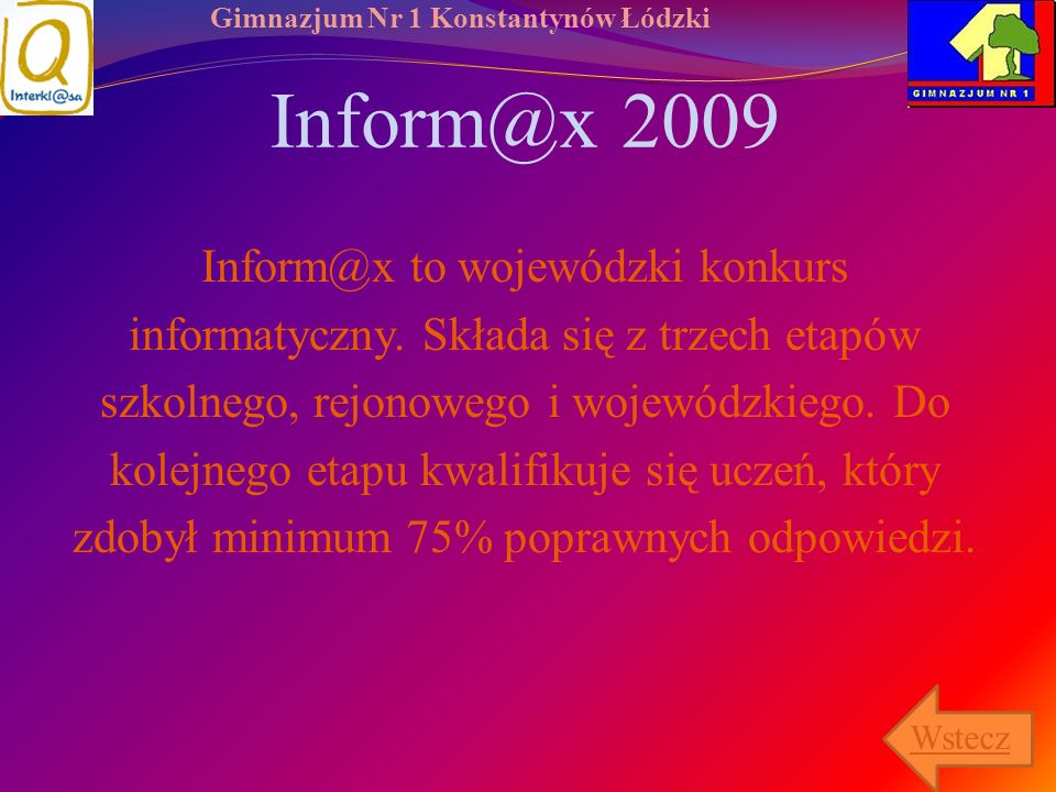 Inform@x 2009