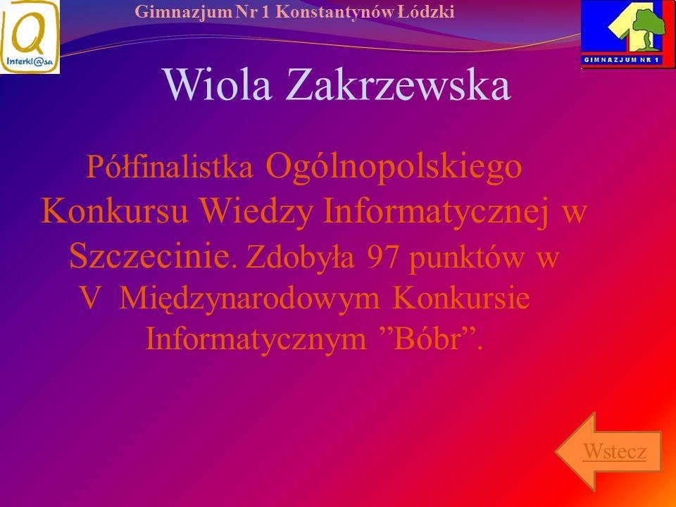 Wiola Zakrzewska