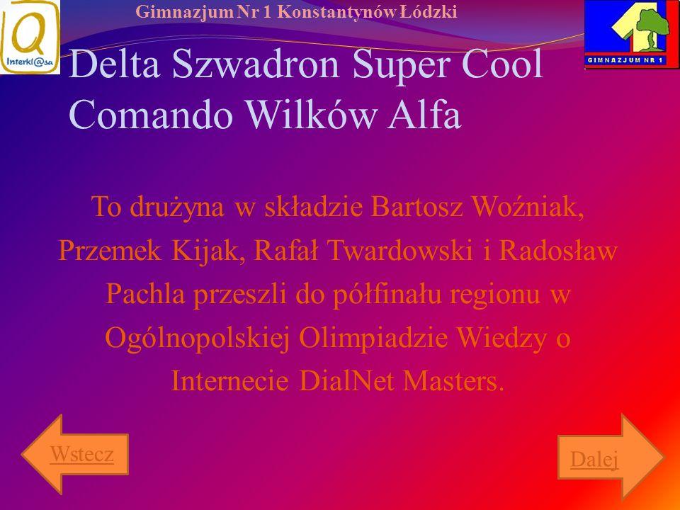 Delta Szwadron Super Cool Comando Wilków Alfa