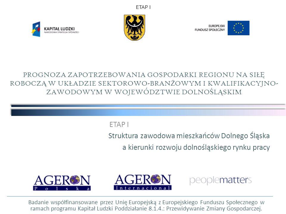Struktura zawodowa mieszkańców Dolnego Śląska