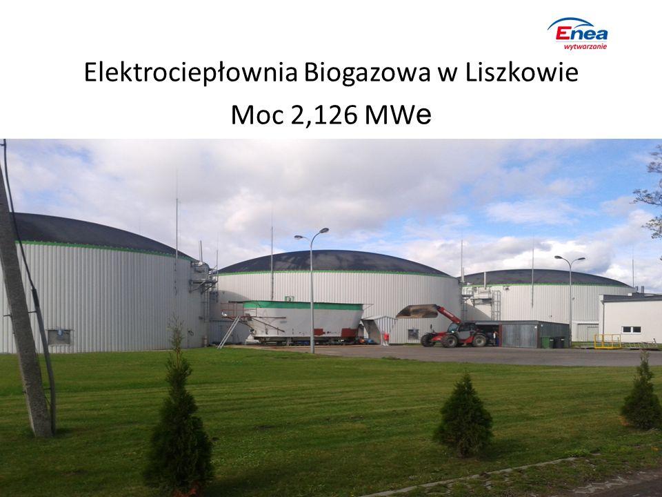Elektrociepłownia Biogazowa w Liszkowie