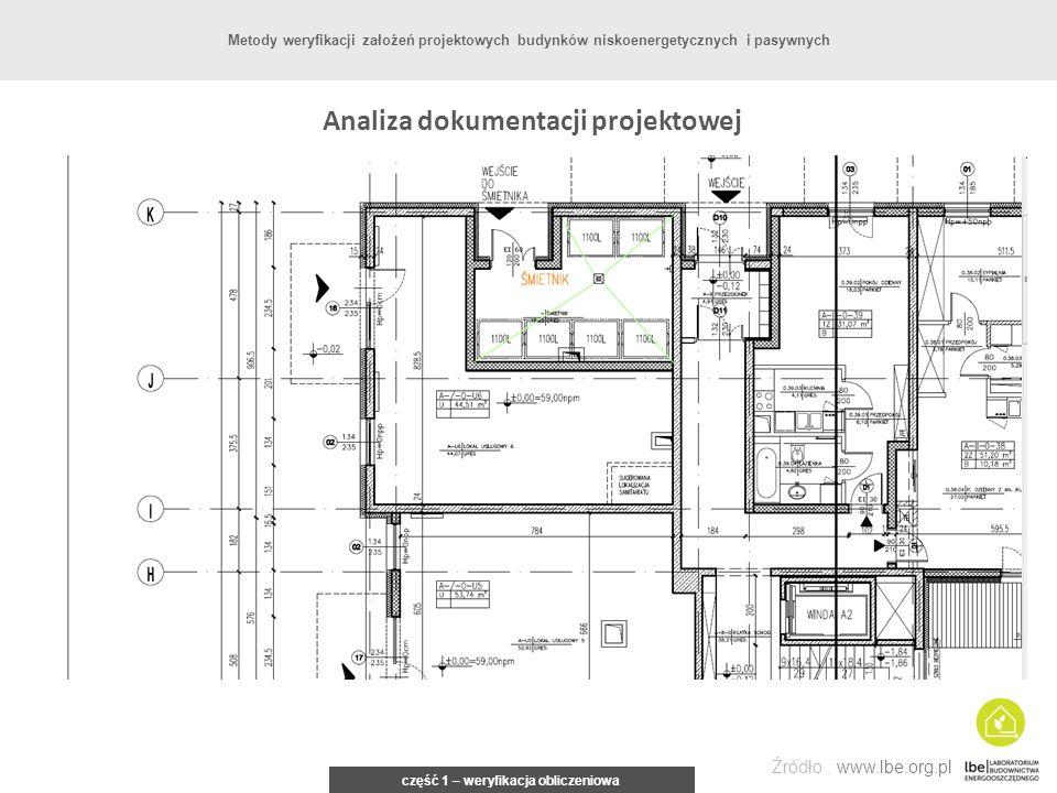 Analiza dokumentacji projektowej część 1 – weryfikacja obliczeniowa