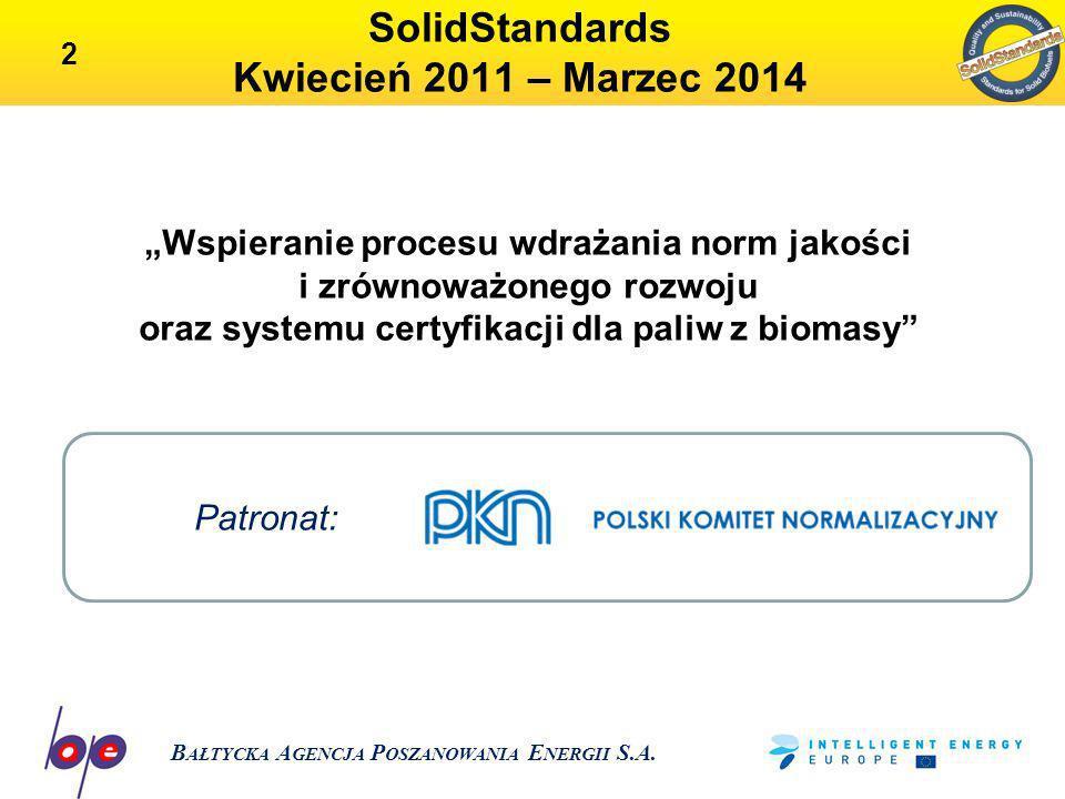 SolidStandards Kwiecień 2011 – Marzec 2014