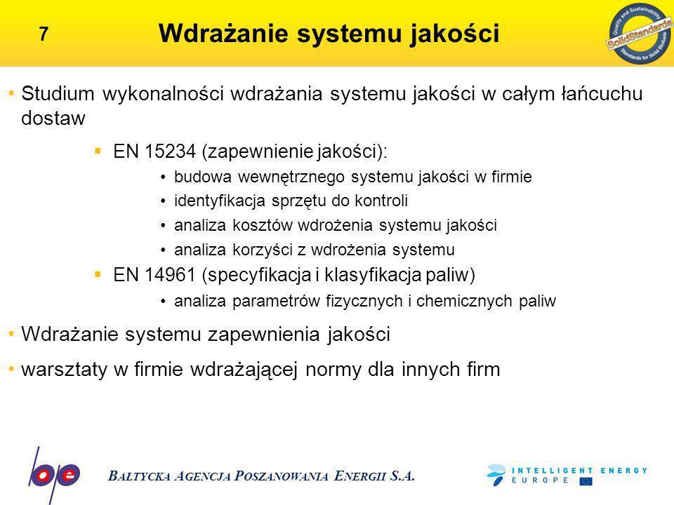 Wdrażanie systemu jakości