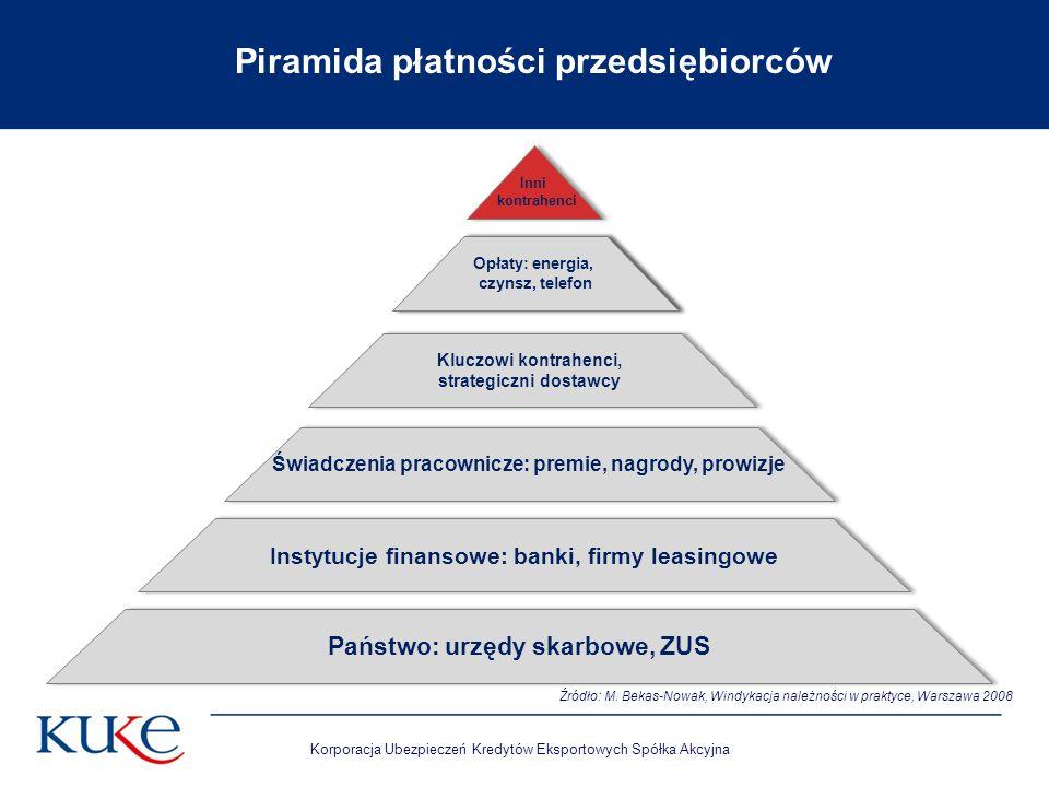 Piramida płatności przedsiębiorców
