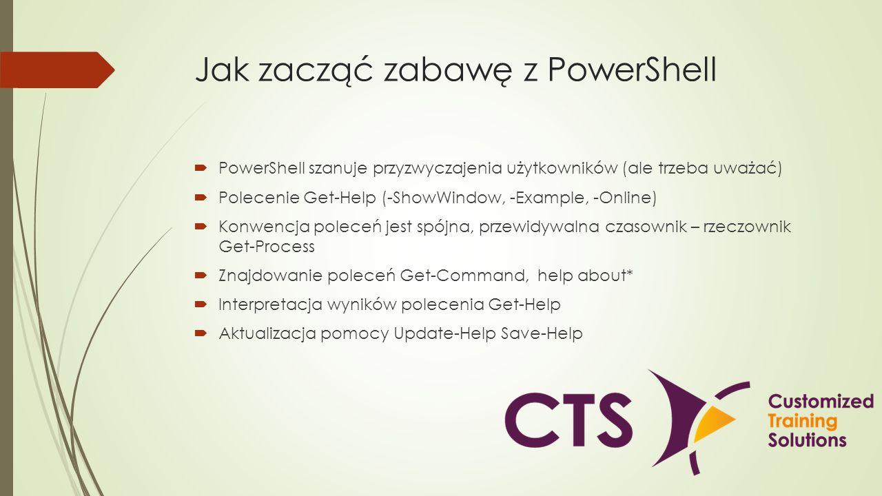 Jak zacząć zabawę z PowerShell