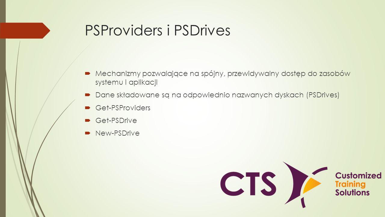 PSProviders i PSDrives