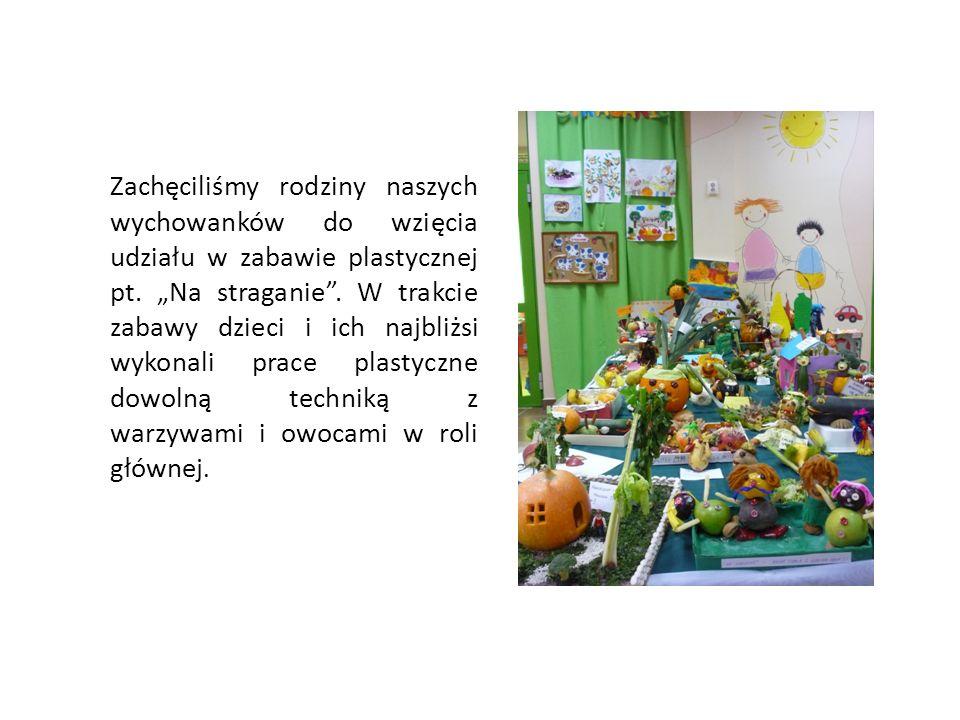 Zachęciliśmy rodziny naszych wychowanków do wzięcia udziału w zabawie plastycznej pt.