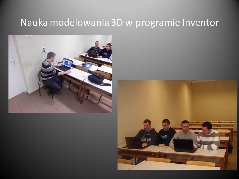 Nauka modelowania 3D w programie Inventor