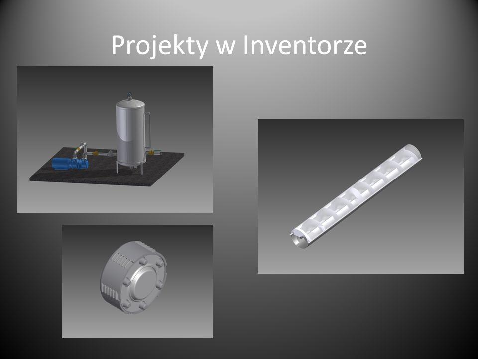 Projekty w Inventorze