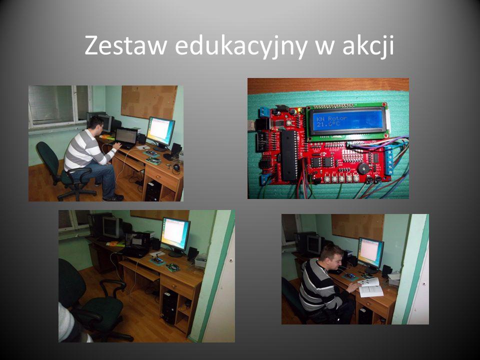 Zestaw edukacyjny w akcji