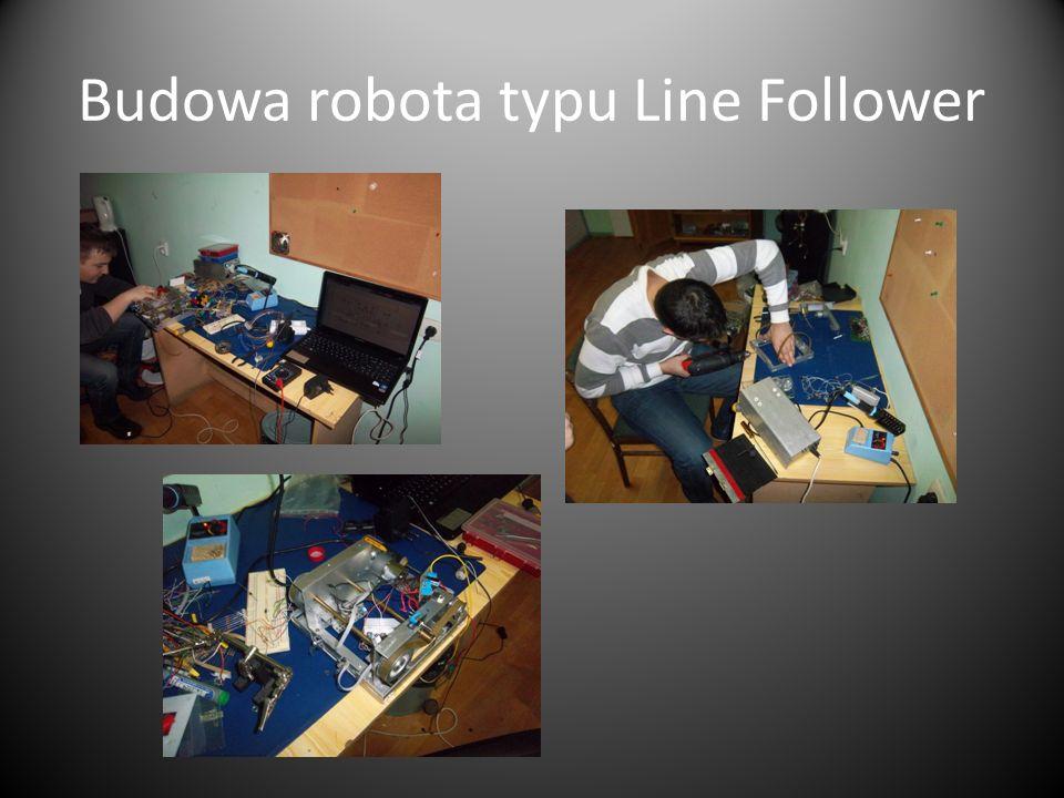 Budowa robota typu Line Follower