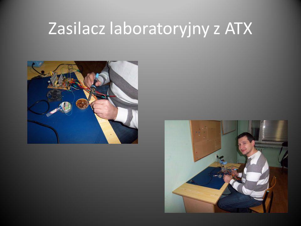 Zasilacz laboratoryjny z ATX