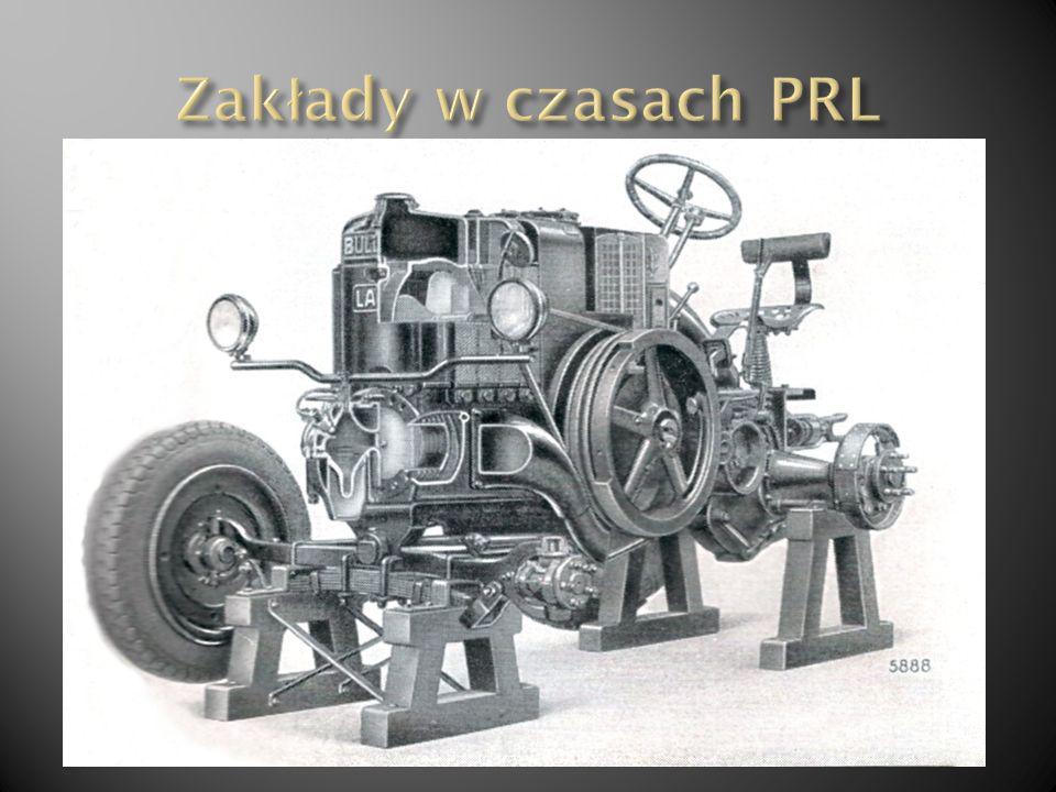 Zakłady w czasach PRL