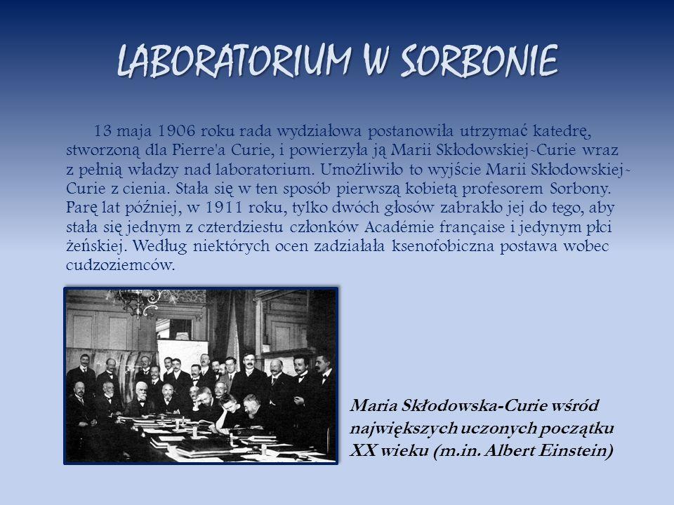 LABORATORIUM W SORBONIE