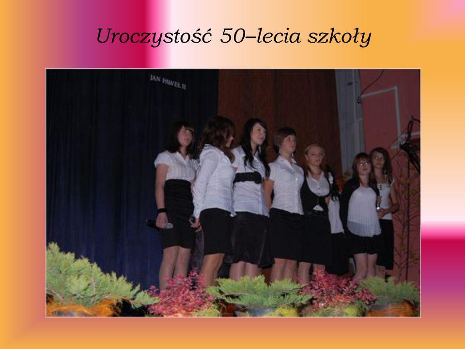 Uroczystość 50–lecia szkoły
