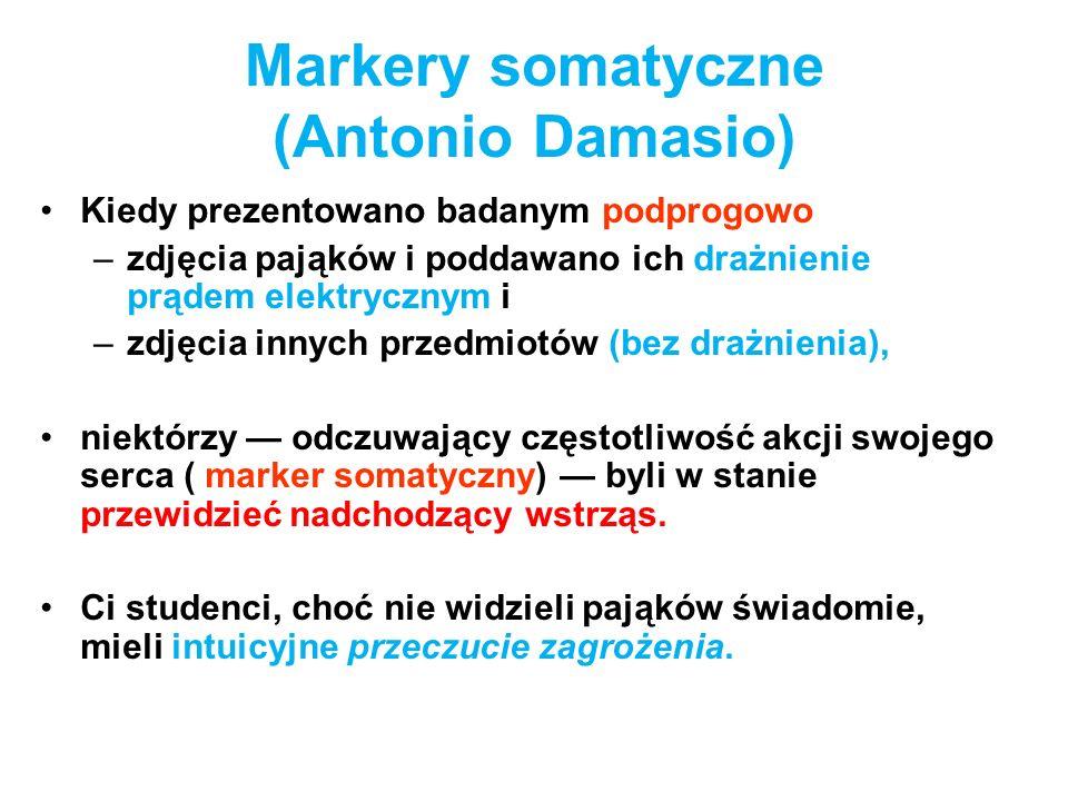 Markery somatyczne (Antonio Damasio)