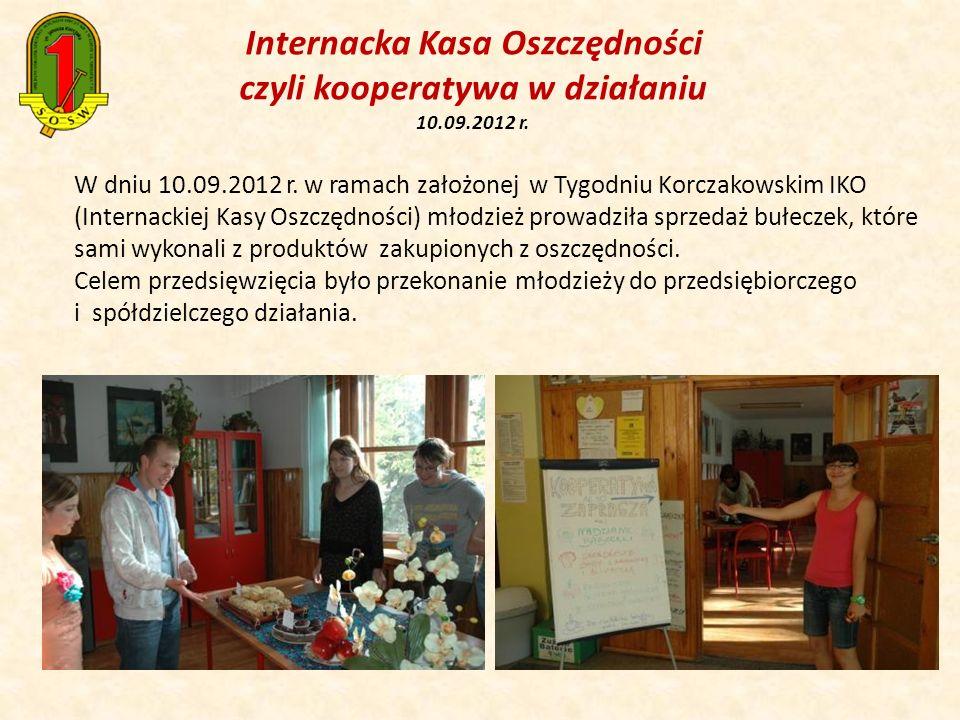 Internacka Kasa Oszczędności czyli kooperatywa w działaniu 10. 09