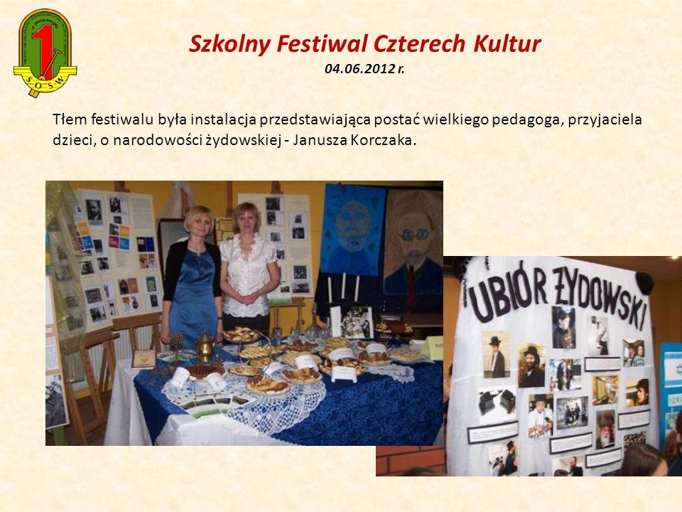Szkolny Festiwal Czterech Kultur 04.06.2012 r.