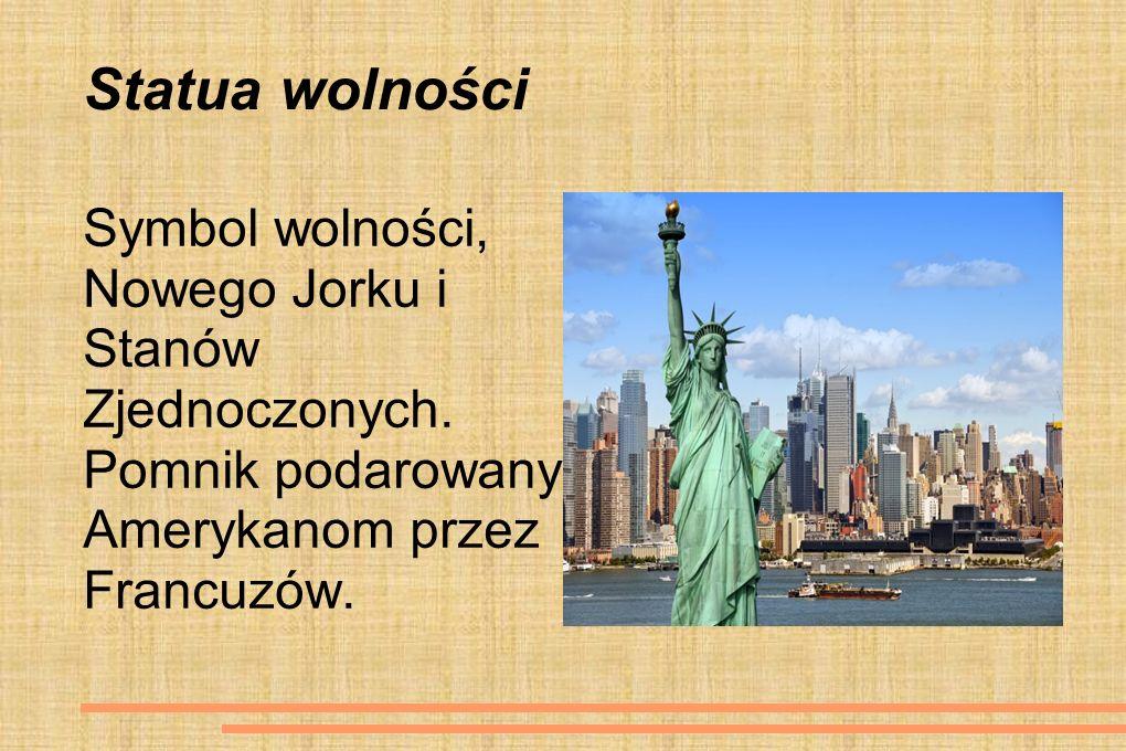 Statua wolności Symbol wolności, Nowego Jorku i Stanów Zjednoczonych.