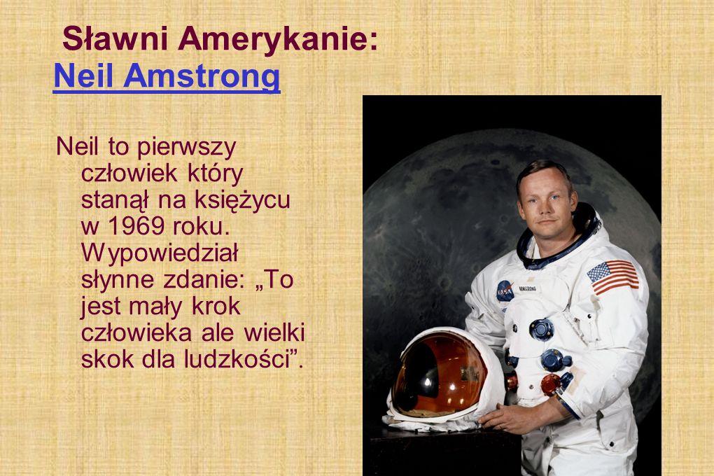 Sławni Amerykanie: Neil Amstrong