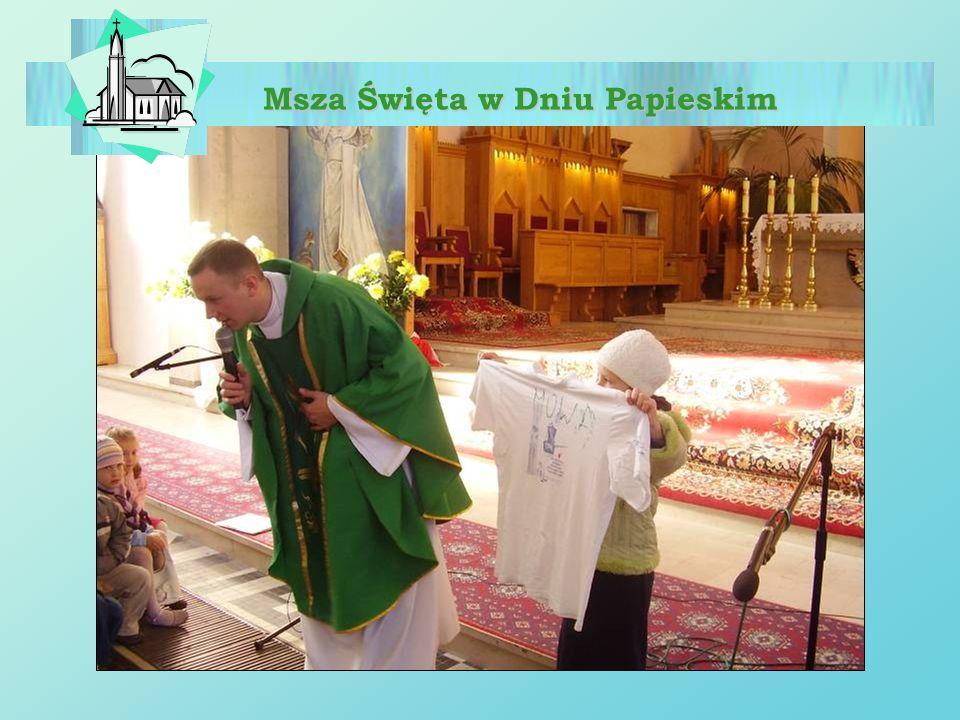 Msza Święta w Dniu Papieskim