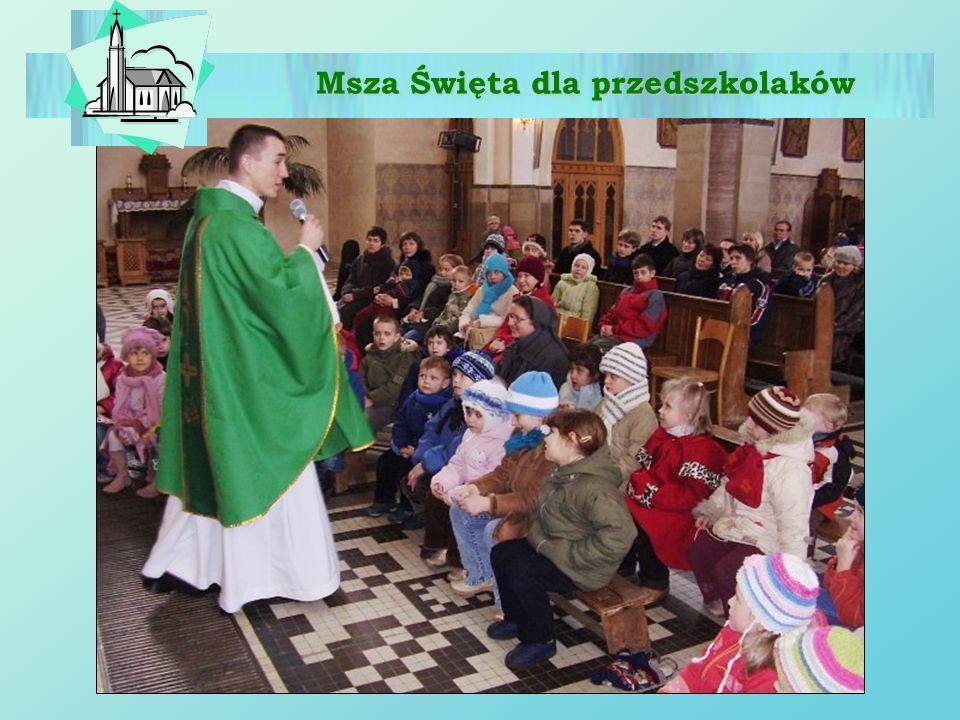 Msza Święta dla przedszkolaków