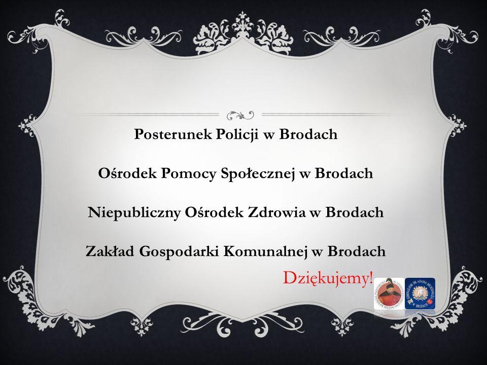 Dziękujemy! Posterunek Policji w Brodach