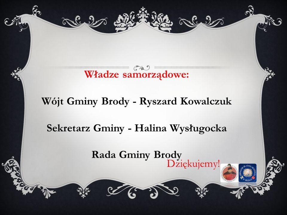 Wójt Gminy Brody - Ryszard Kowalczuk