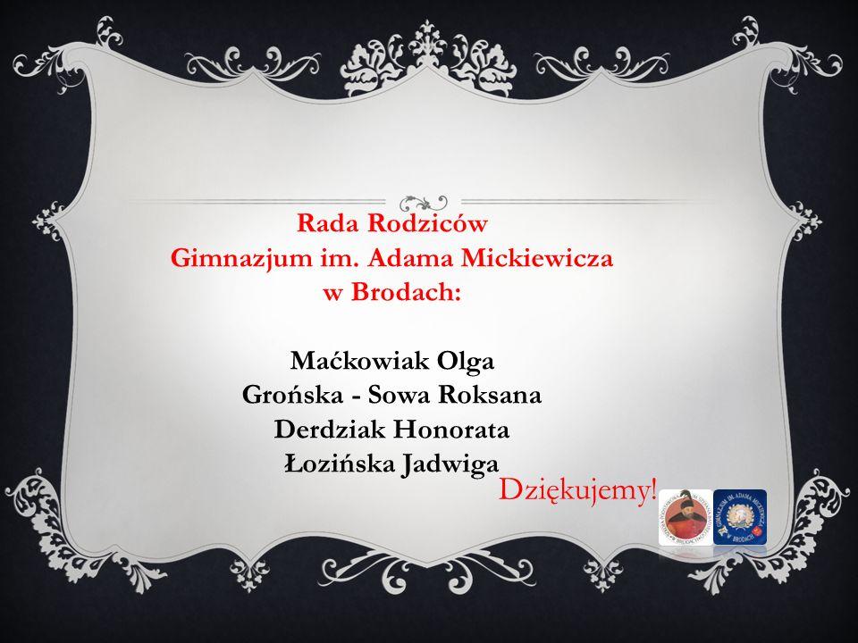 Gimnazjum im. Adama Mickiewicza w Brodach: