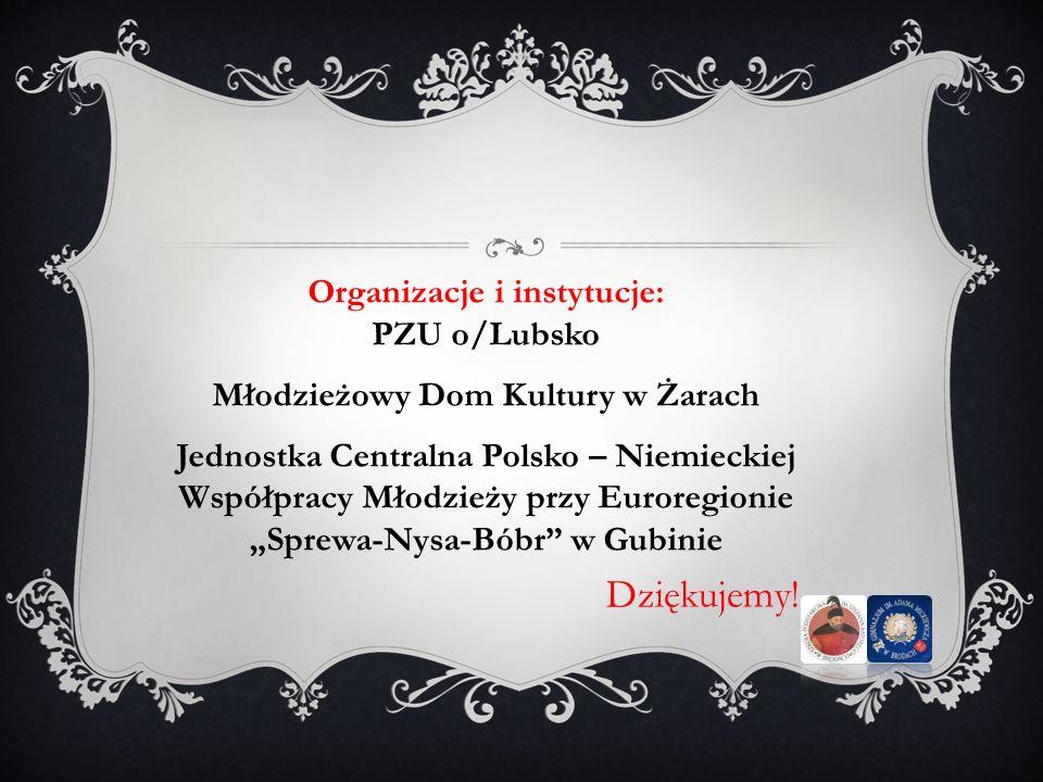 Organizacje i instytucje: Młodzieżowy Dom Kultury w Żarach