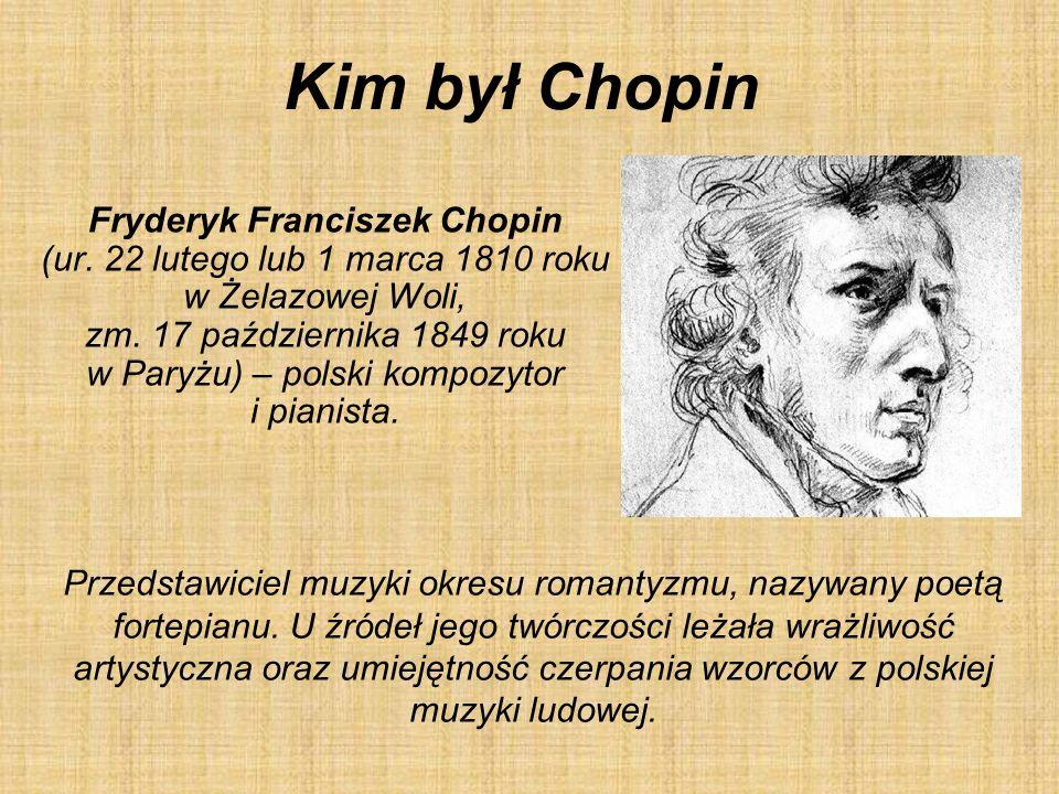 Kim był Chopin