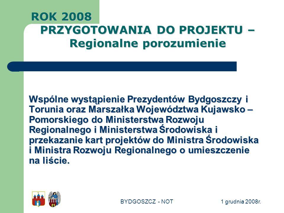 PRZYGOTOWANIA DO PROJEKTU – Regionalne porozumienie