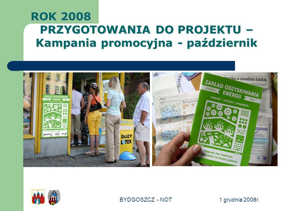 PRZYGOTOWANIA DO PROJEKTU – Kampania promocyjna - październik