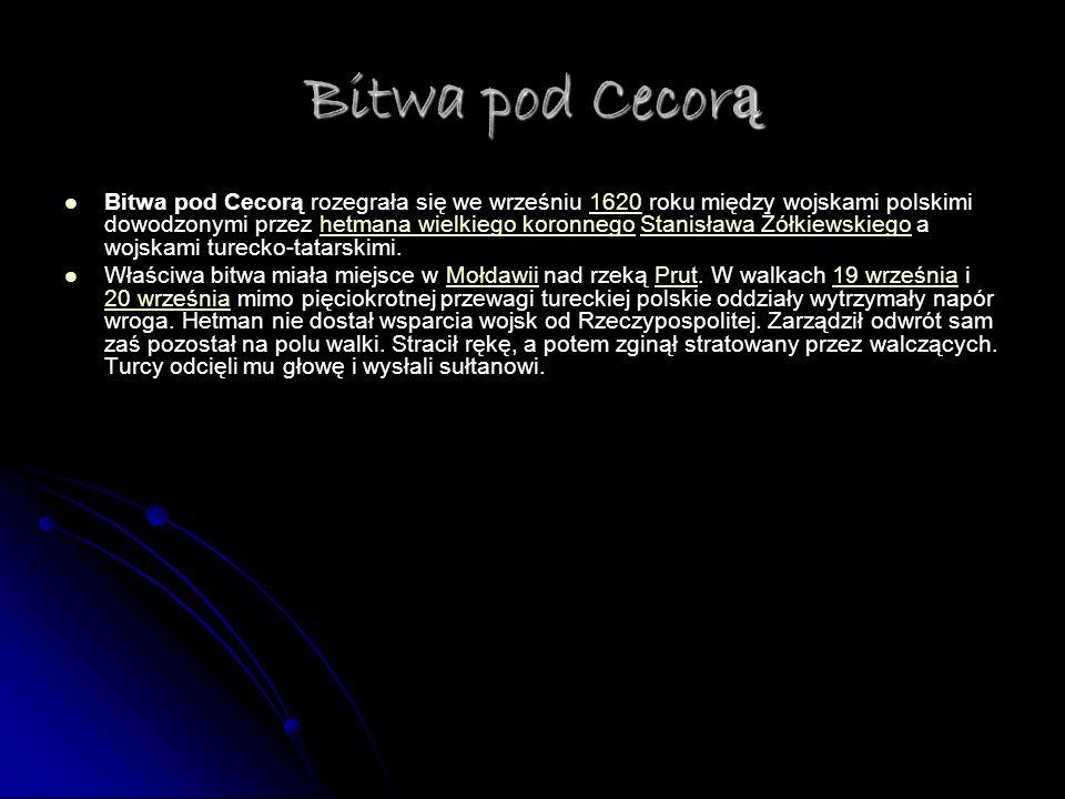 Bitwa pod Cecorą