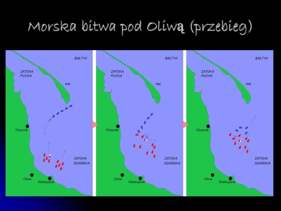 Morska bitwa pod Oliwą (przebieg)