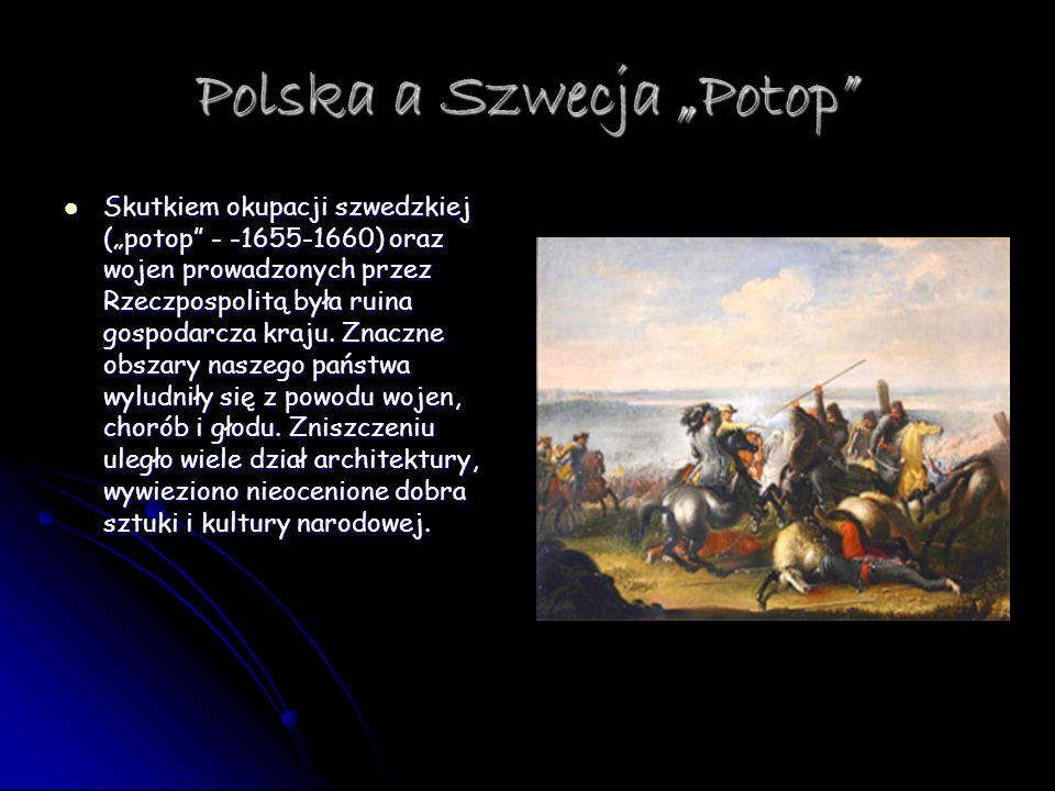 "Polska a Szwecja ""Potop"
