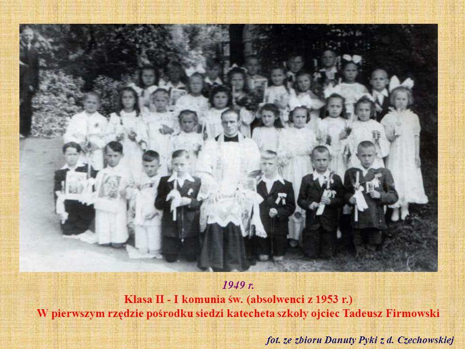 fot. ze zbioru Danuty Pyki z d. Czechowskiej