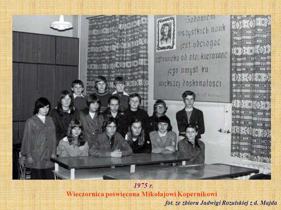 1975 r. Wieczornica poświęcona Mikołajowi Kopernikowi