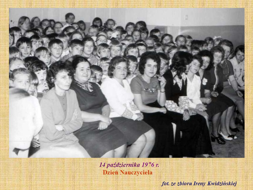 14 października 1976 r. Dzień Nauczyciela